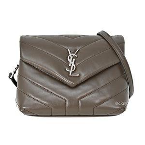 Saint Laurent Toy Monogram Loulou Leather Bag